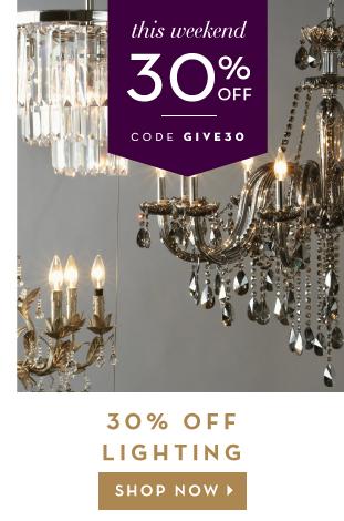 30% Off Lighting