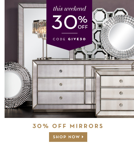 30% off mirrors