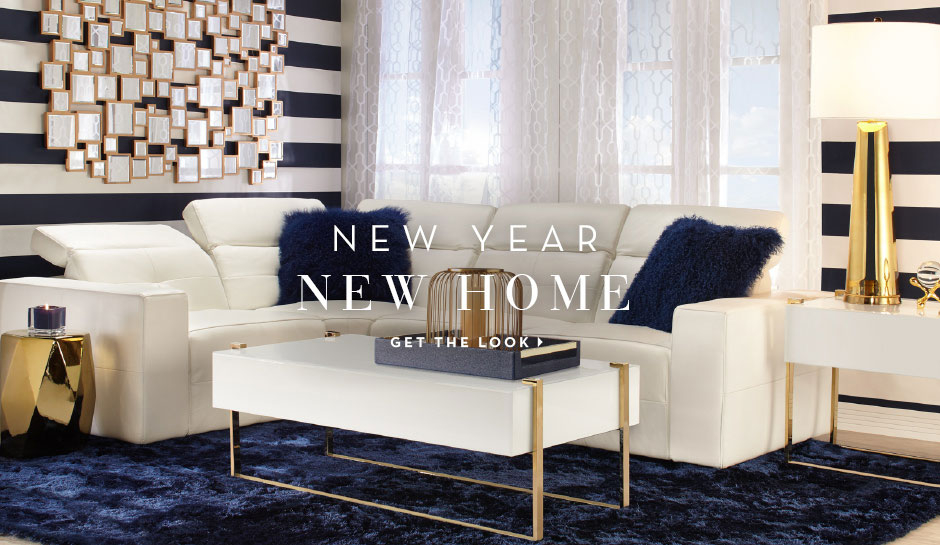 New Year. New Home. Get the livingroom look.