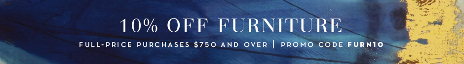 10% Off Furniture with promo code FURN10