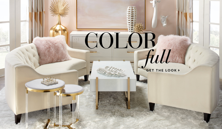 Color Full - Get the living room look