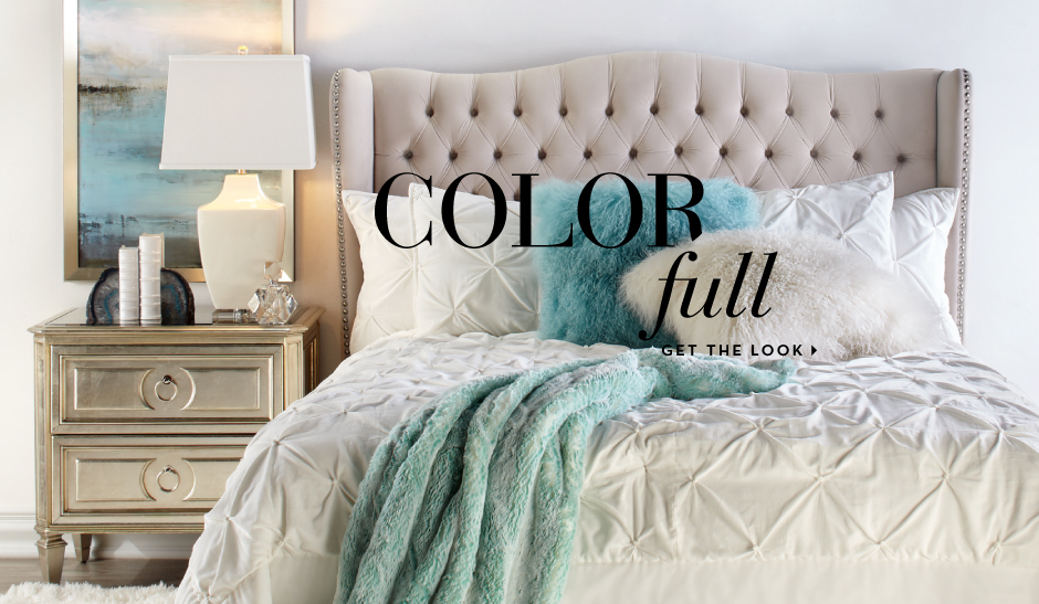 Color Full - Get the bedroom look