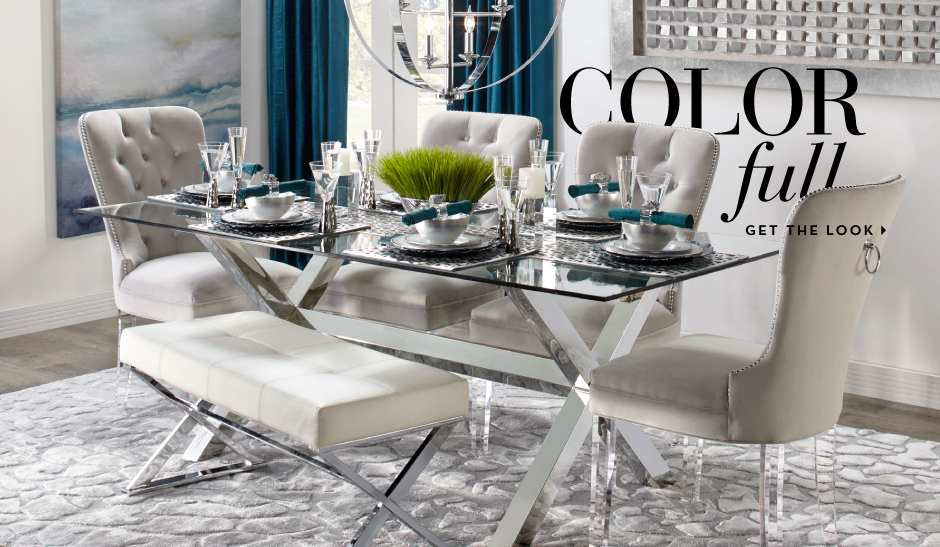 Color Full - Get the dining room look