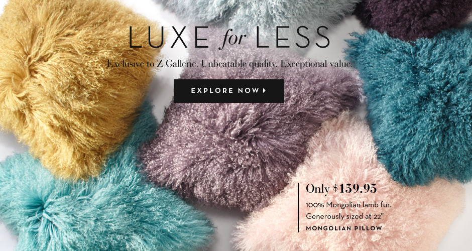 Luxe for Less Pillows - Explore Now
