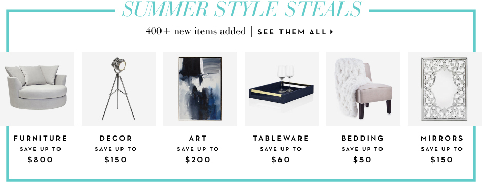 Summer style Steals