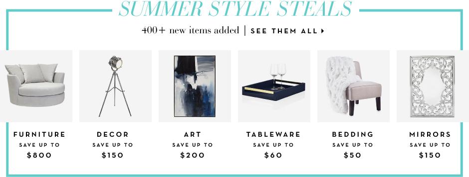 Summer style Steals