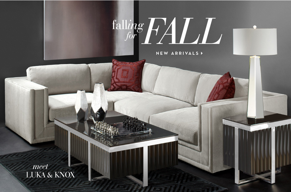 First Call For Fall - Shop New Decor