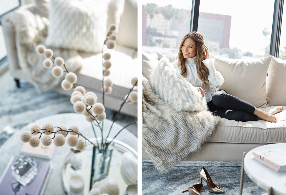 Details of Jessi's new livingroom