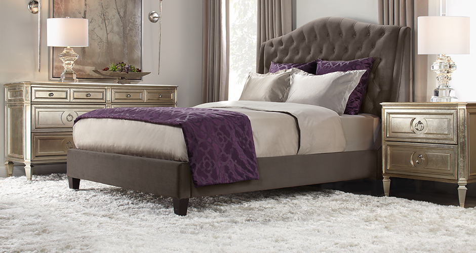 Beds bed frames stylish bedroom furniture z gallerie for Z bedroom furniture
