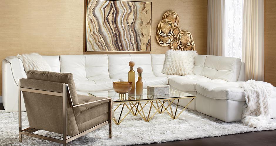 Naturally Chic livingroom