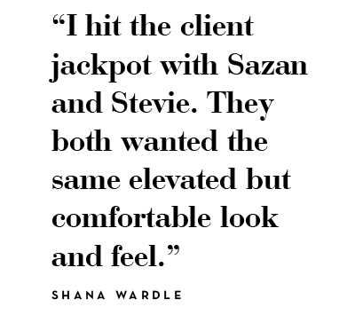 I hit the jackpot with Sazan and Stevie. It doesn't happen this way, especially with couples! - Shana Wardles