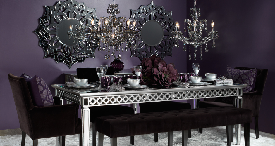Stylish home decor chic furniture at affordable prices for Dining room decor accessories
