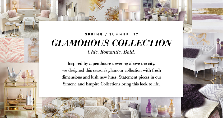 The Glamorous Collection - Chic. Romantic. Bold.