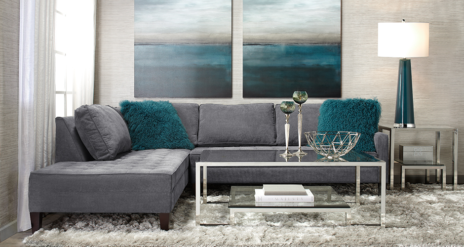 Superior Z Gallerie Furniture Sale #8: The Vapor Sectional Sofa - Exclusive To Z Gallerie, Our Vapor Sectional Has An Urban