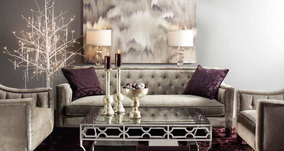 Living Room Decor Ideas Black And Silver