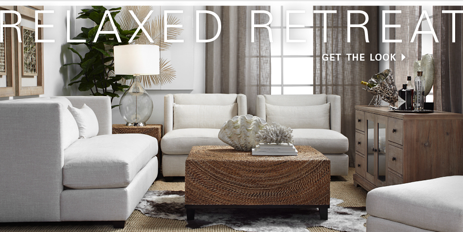 Relaxed retreat - shop the look
