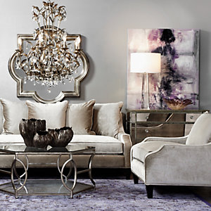 Living room furniture inspiration z gallerie for Z gallerie living room inspiration