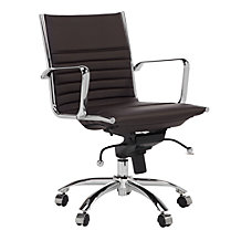 Malcolm Desk Chair - Brown