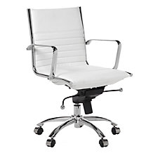 Malcolm Desk Chair - White