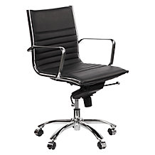 Malcolm Desk Chair - Black