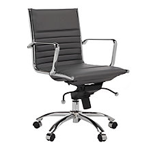 Malcolm Desk Chair - Grey