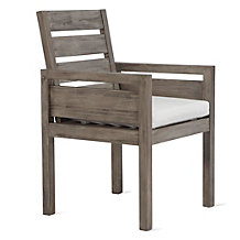Lucia Outdoor Dining Arm Chair -...