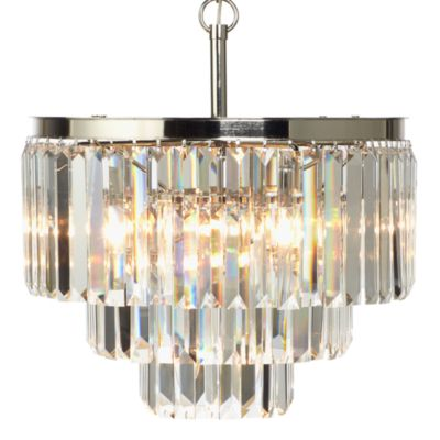 This Review Is FromLuxe Crystal Chandelier By Z Gallerie.