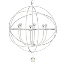 Eclipse Chandelier - White