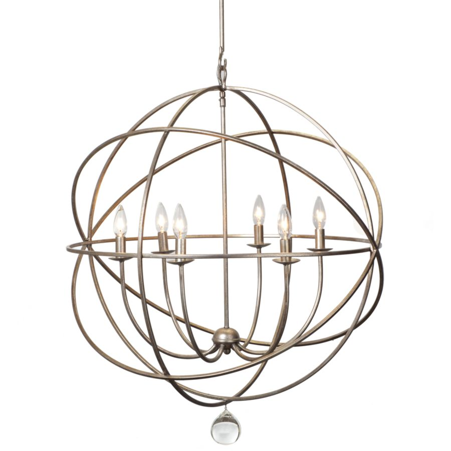 Eclipse chandelier bronze orb chandelier z gallerie this review is fromeclipse chandelier olde silver three arm chandelier 12 by z gallerie arubaitofo Choice Image