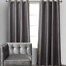 Roma Tonal Striped Panels - Grey