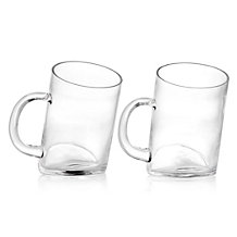 Slant Beer Glass - Set of 4