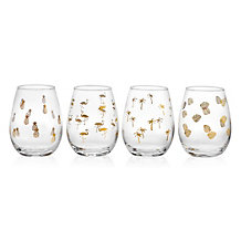 Palmetto Tumblers - Set of 4