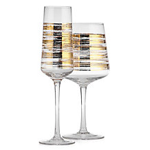 Brushstroke Stemware - Sets of 4