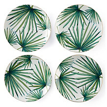 Palmetto Palm Plate - Set of 4