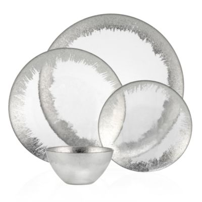 Solaris Dinnerware - Sets of 4  sc 1 st  Z Gallerie & Dinnerware | Plates Bowls \u0026 Sets | Z Gallerie