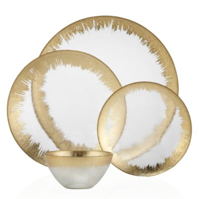 Charger - Set of 4  sc 1 st  Z Gallerie & Solaris Dinnerware - Sets of 4   Chargers   Tableware   Z Gallerie