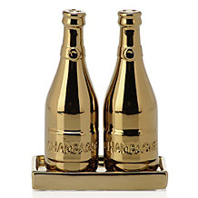 Champagne Salt And Pepper Shakers