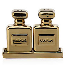 Parfum Salt And Pepper Shakers