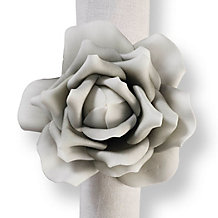 Village Flower Napkin Ring - Set...