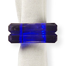 Acrylic Napkin Ring - Set of 4