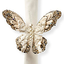 Butterfly Napkin Ring - Set of 4