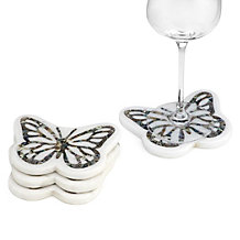 Butterfly Coaster - Set of 4