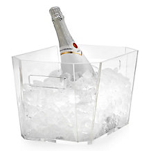 Claro Acrylic Party Bucket