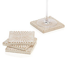 Sunburst Coaster - Set of 4