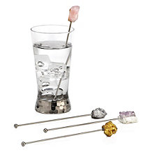 Aster Geode Drink Stirrers - Set...