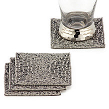 Beaded Coaster - Set of 4