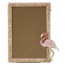Jeweled Flamingo Frame