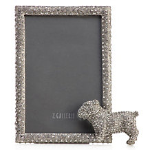 Jeweled Dog Frame