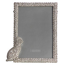 Jeweled Cat Frame