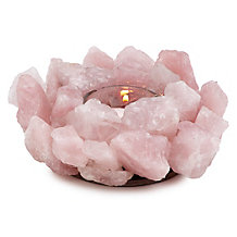 Rose Quartz Tealight